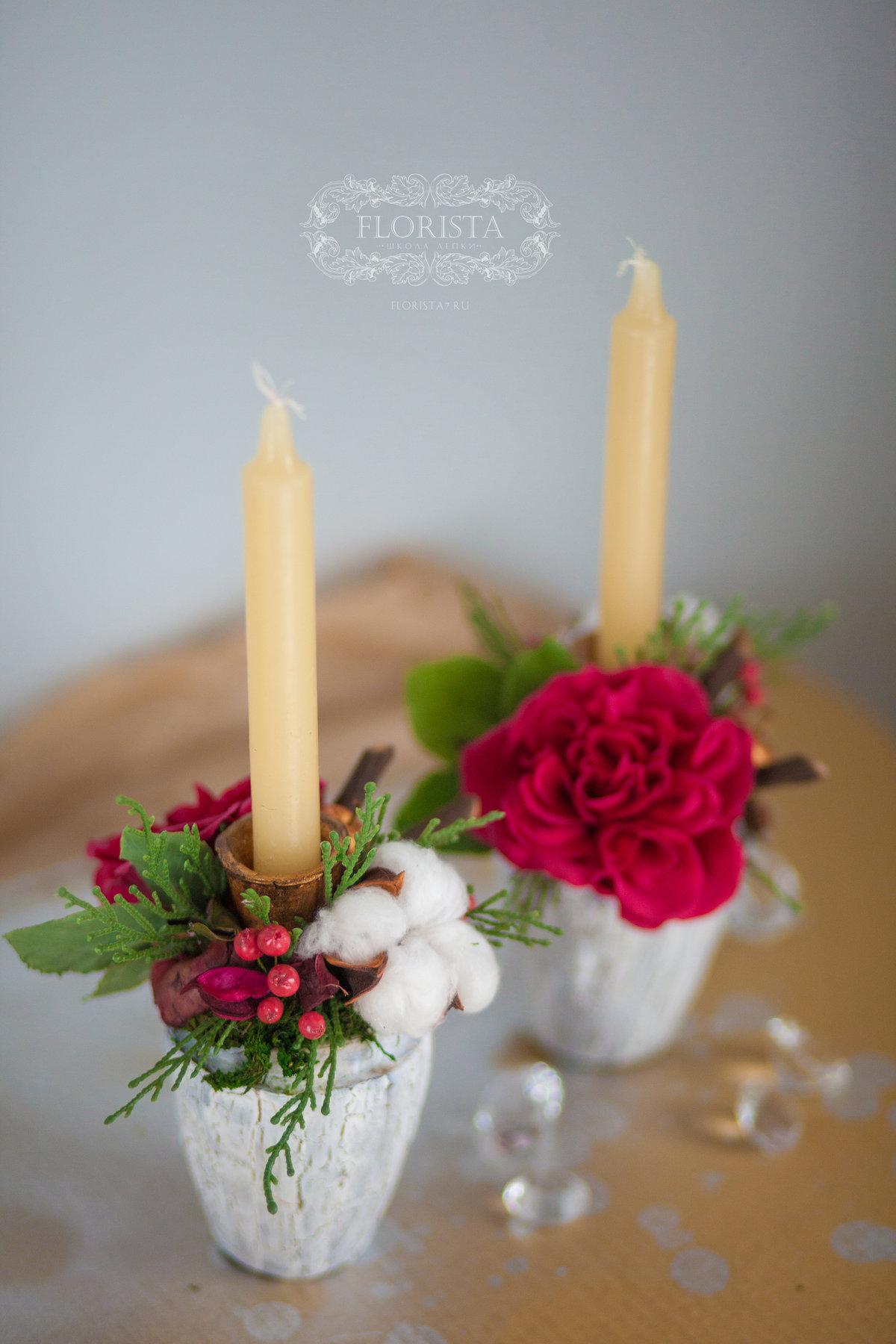 Цветы из полимерной гилны