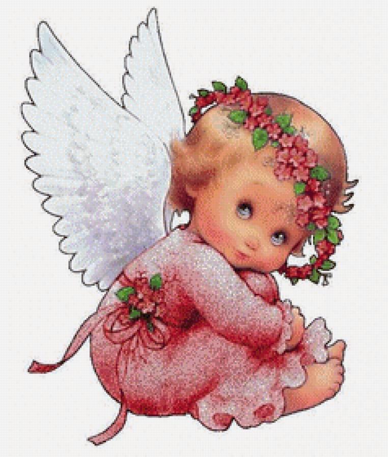 Открытки с ангелочком