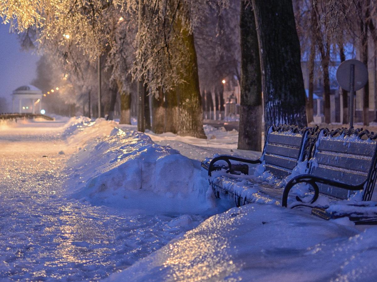 Картинка города зимы