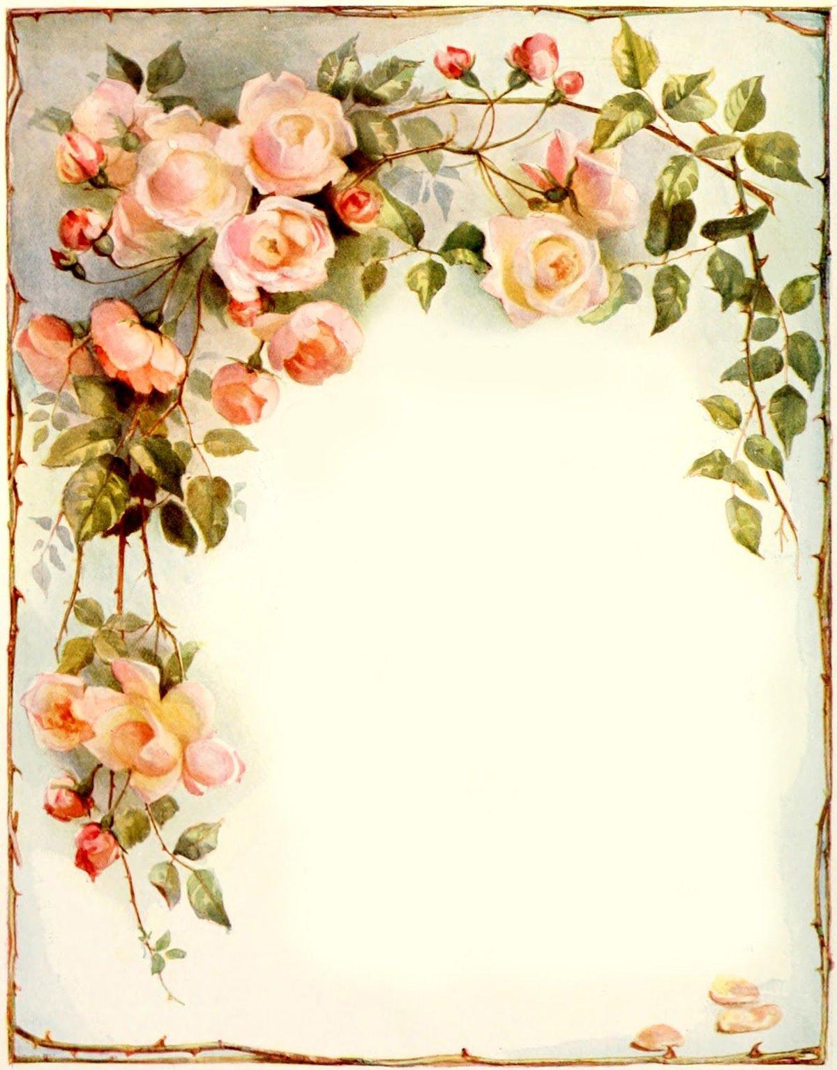 Красивый макет открытки