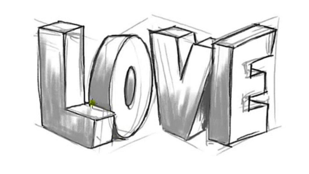 Рисунки с надписями про любовь карандашом, поздравительные открытки