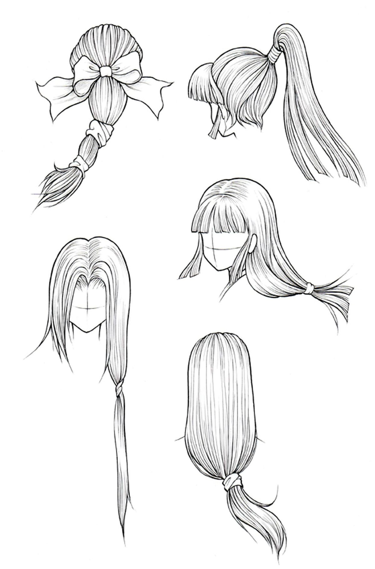 How To Draw Curly Hair Draw Curls Step By Step Anime Top 201 Card