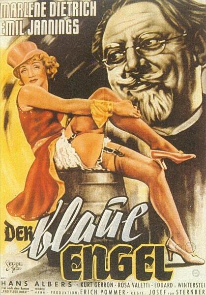 Голубой ангел, (Германия, 1930 год) смотреть онлайн