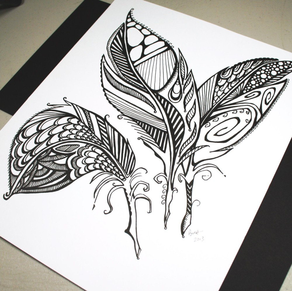 кольцевой картинки для рисования черной гелевой ручкой простые ваша