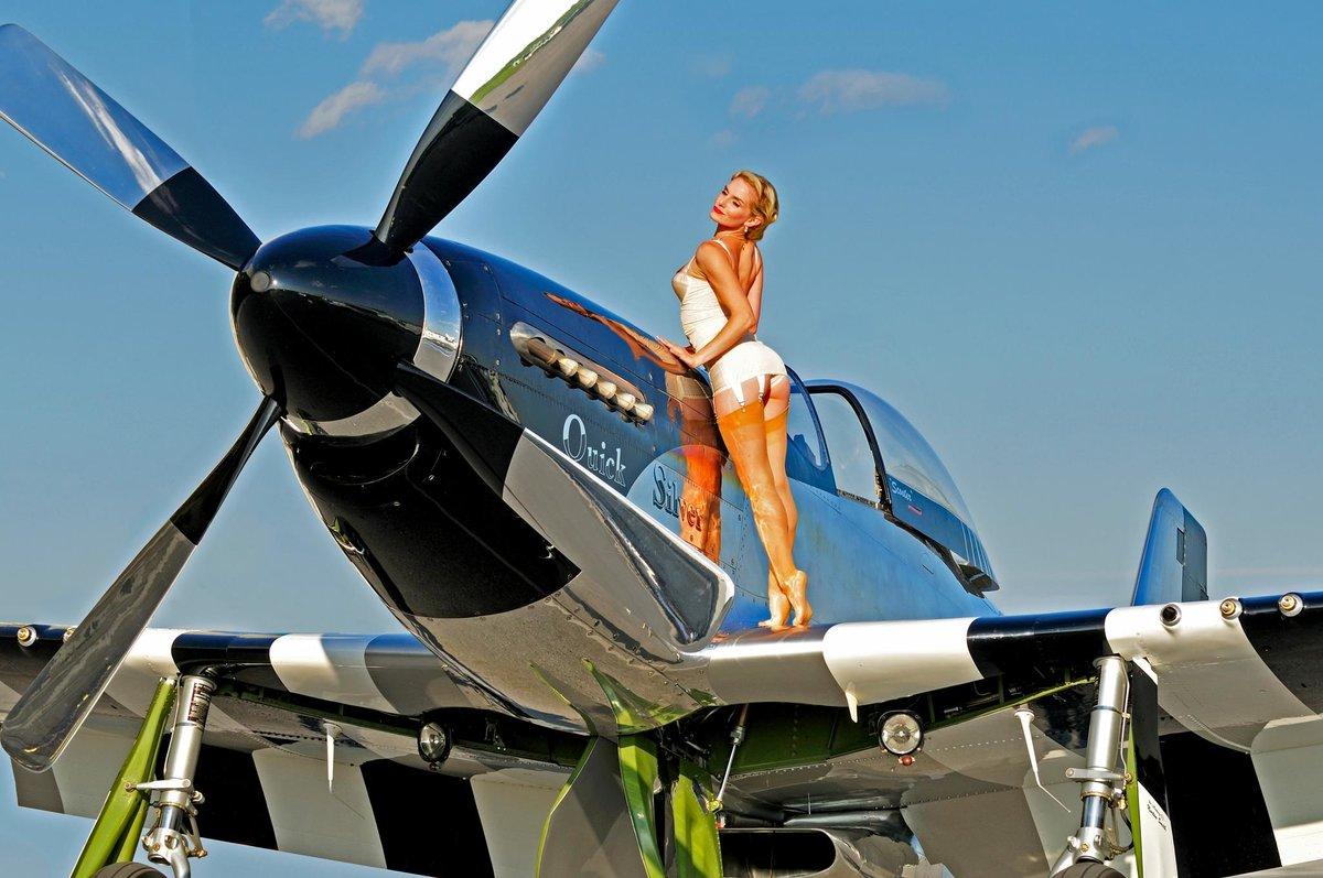 Прикольные картинки девушка и самолет