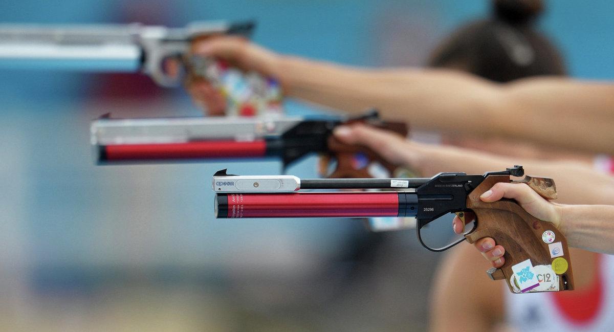 Юбилеем, картинки стрельба из пистолета