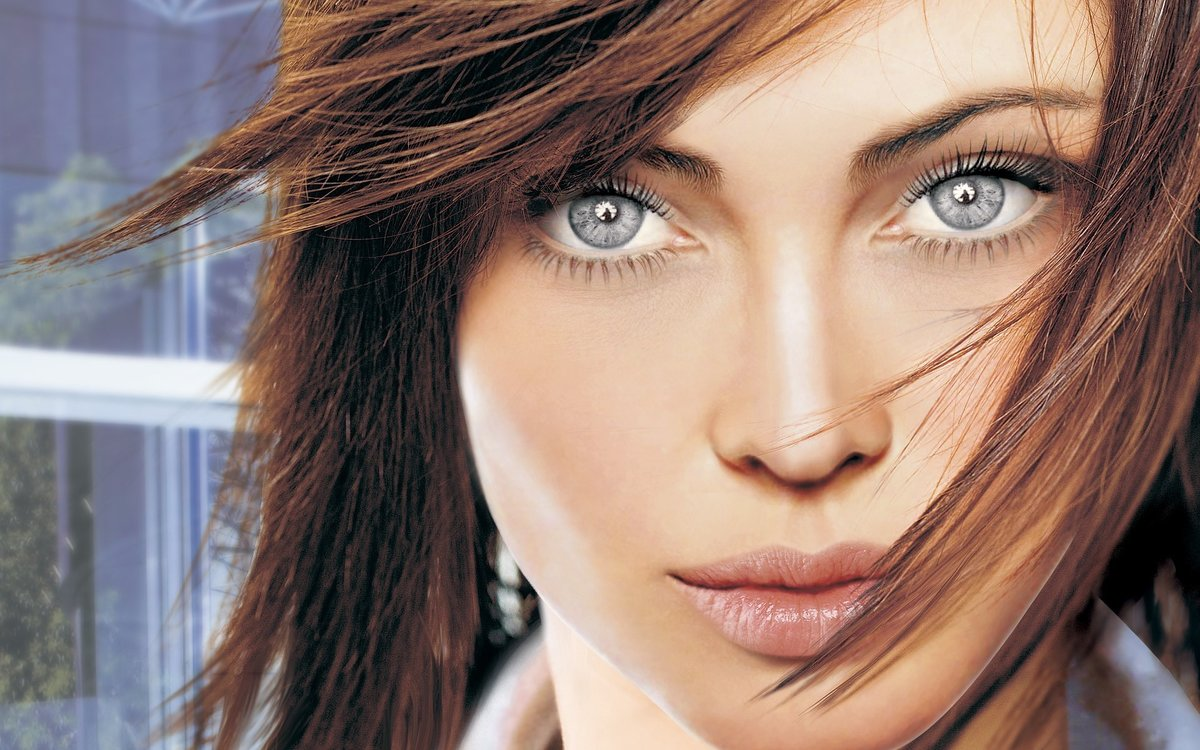Днем рождения, картинки про красивые глаза девушки