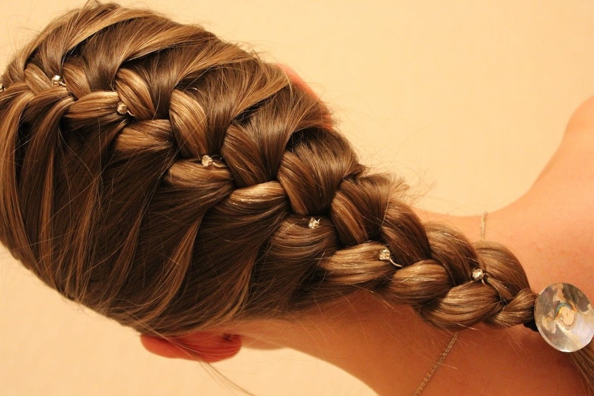 Картинка колосок из волос