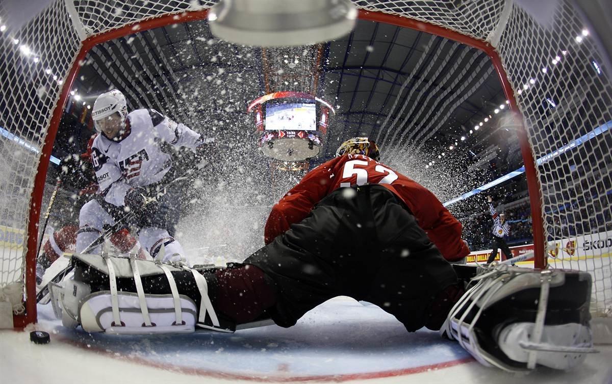 Настройка камеры для фото хоккеистов
