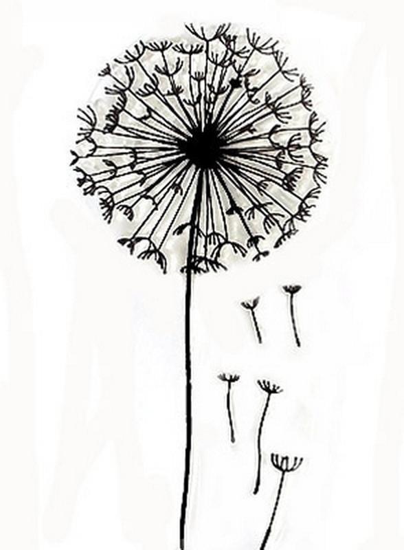 Картинки гелевой ручкой для начинающих, исполнение желаний мечты