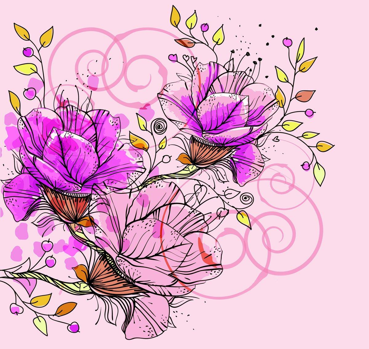 Открытки, открытки с красивыми рисунками