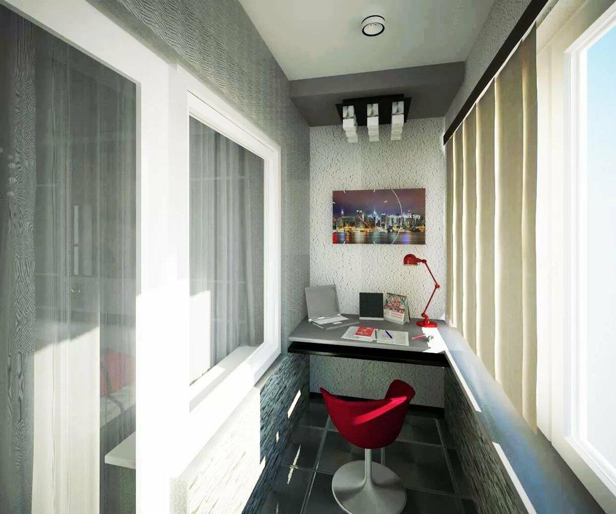 балкона утепленный балкон дизайн фото в панельном зеленый цвет