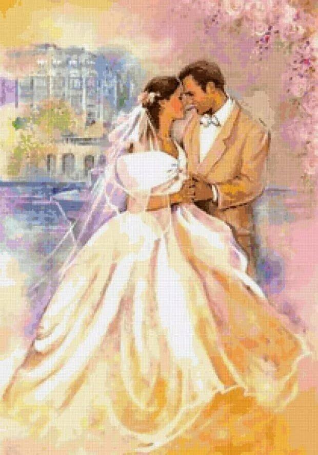Картинки на свадебный декупаж