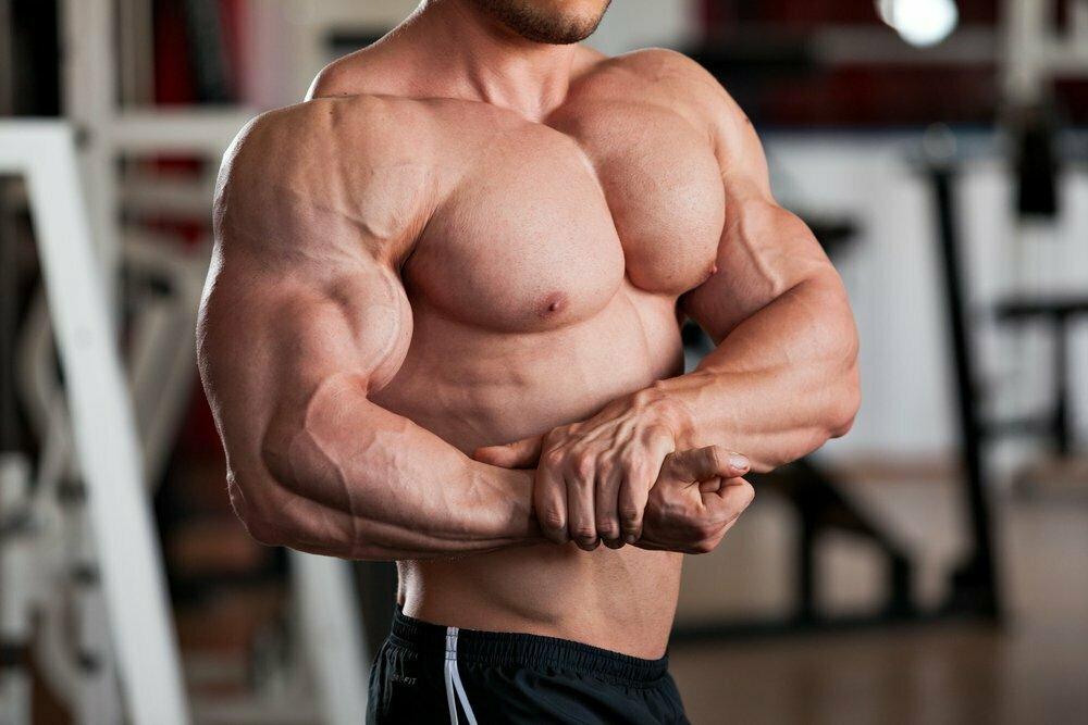 качать мускулы картинки ленуца