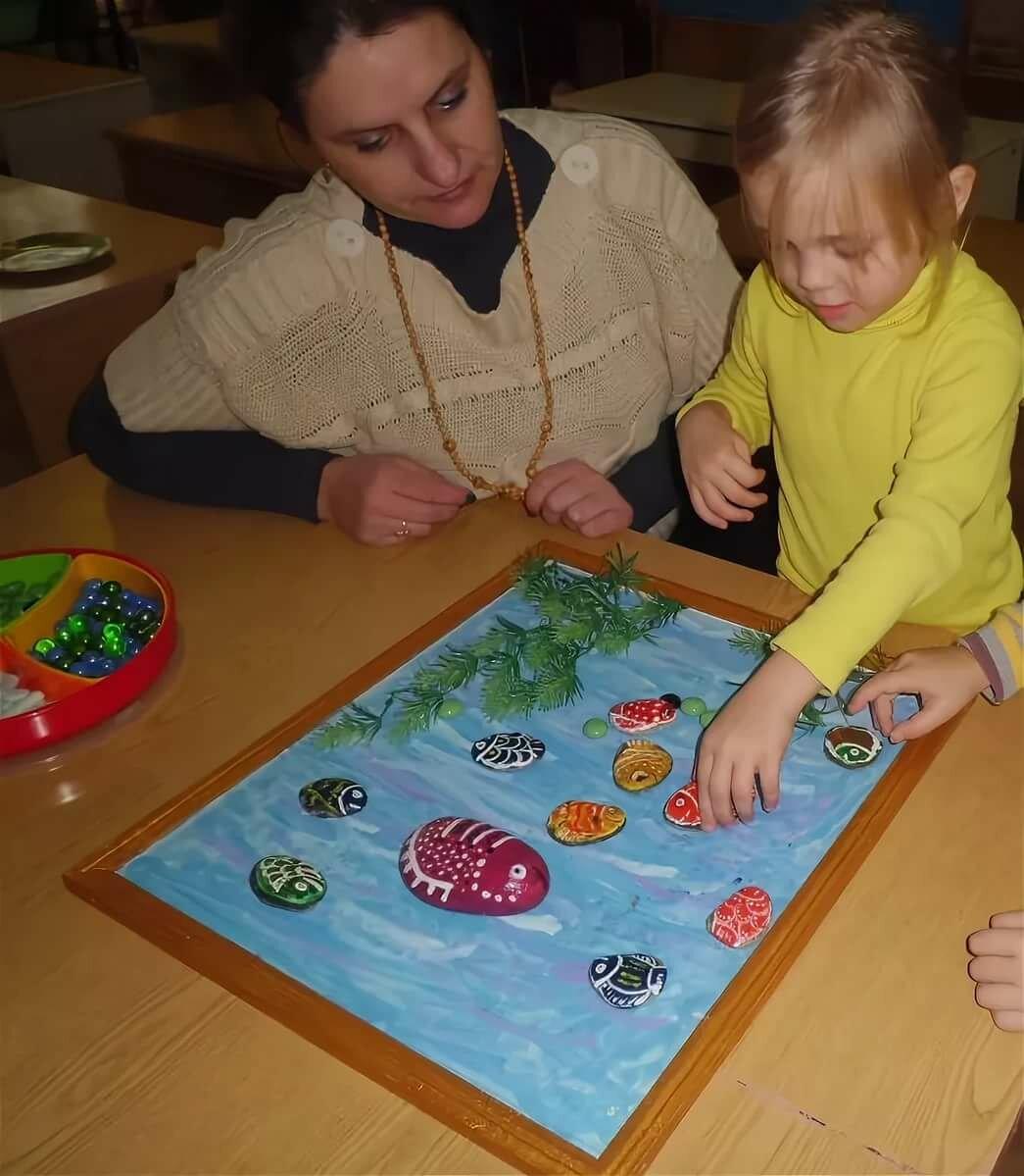 Игры с камушками для детей картинки