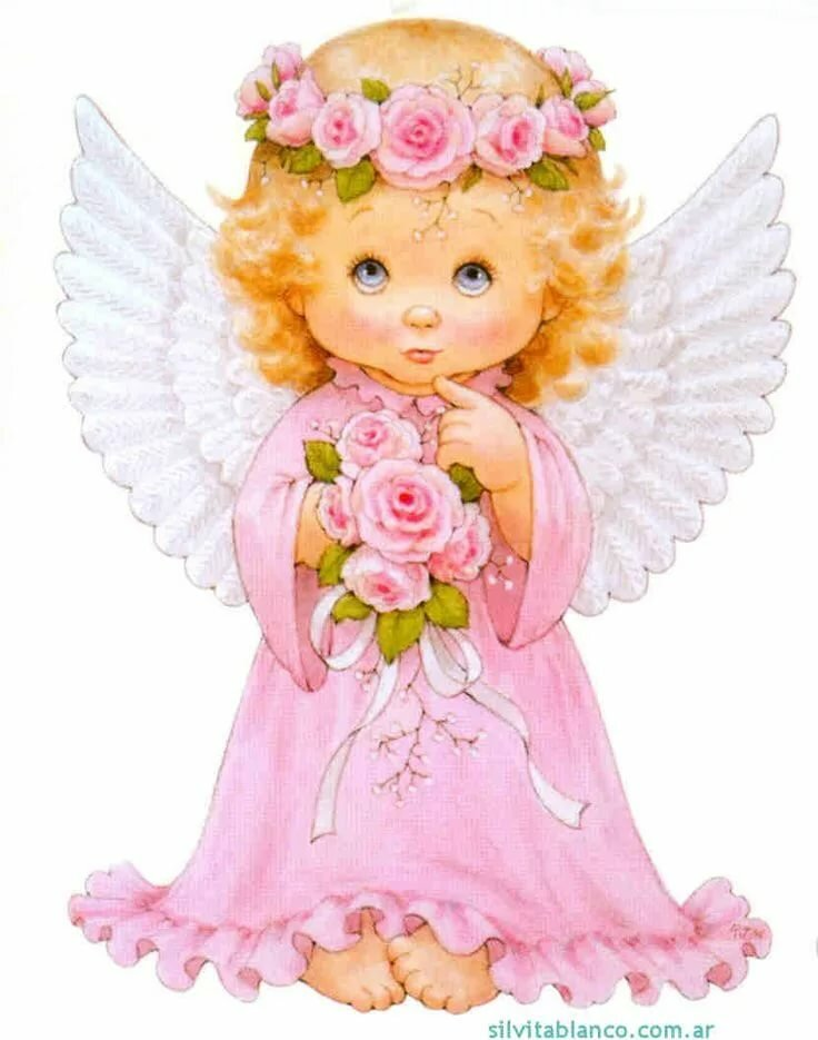 картинки с детьми-ангелами они питаются