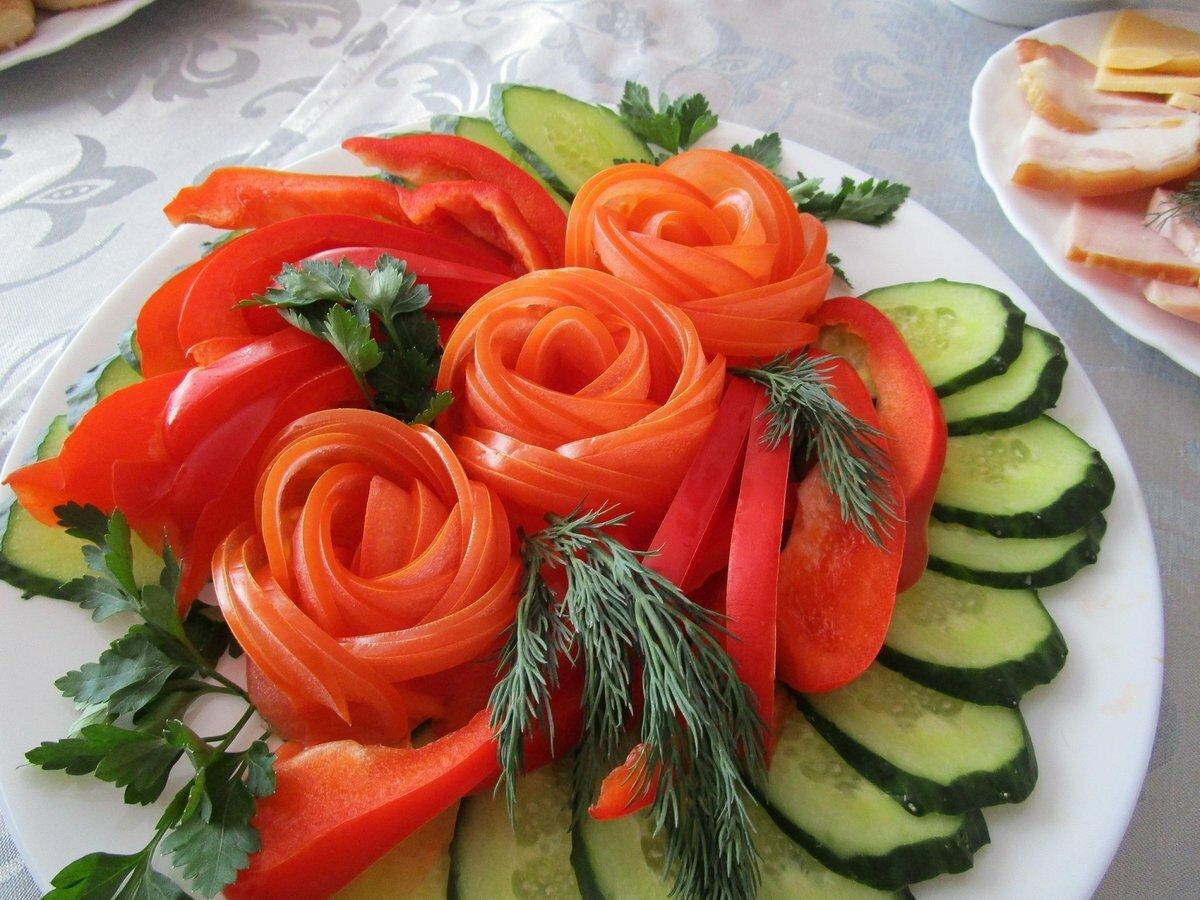 картинки как украшают блюдо серая