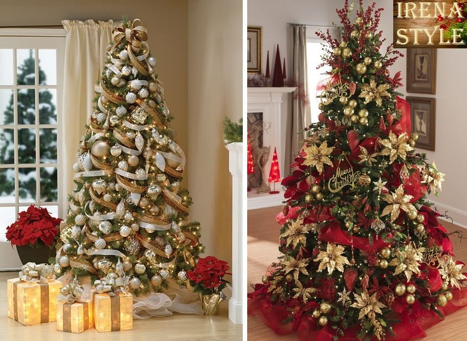 красивое украшение новогодней елки фото сервис явно устарел