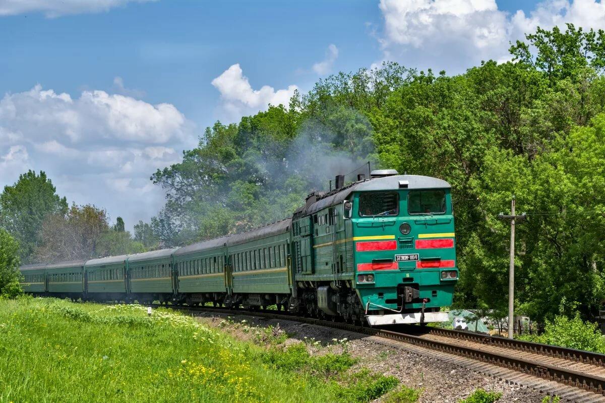российских картинки поездов