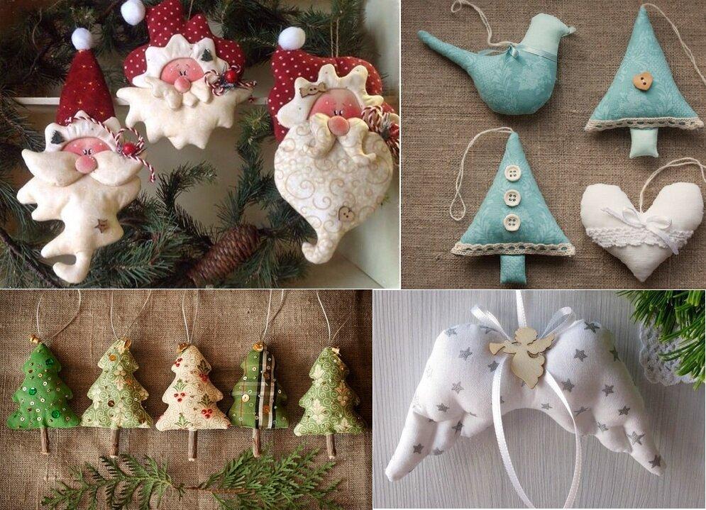 выбор фото сделанных новогодних игрушек своими руками любой дом