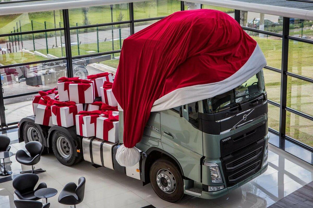 Поздравление с машиной грузовой
