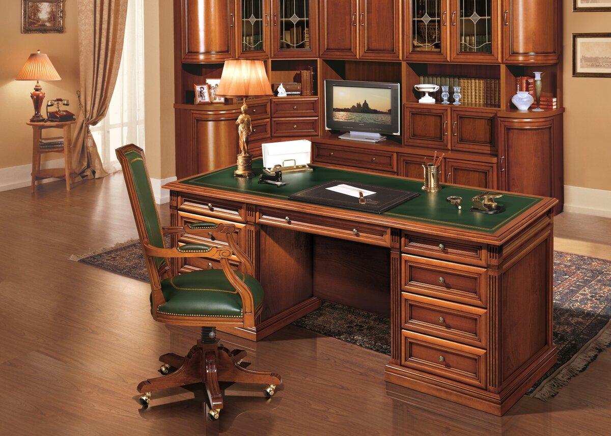 картинка стол и шкафы