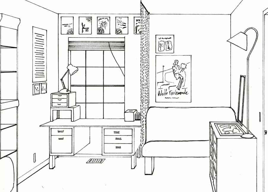 картинки по теме план моей комнаты
