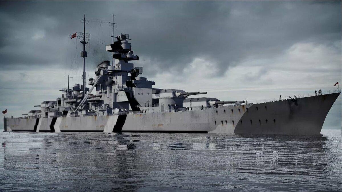 фотографии корабля бисмарк шатуш