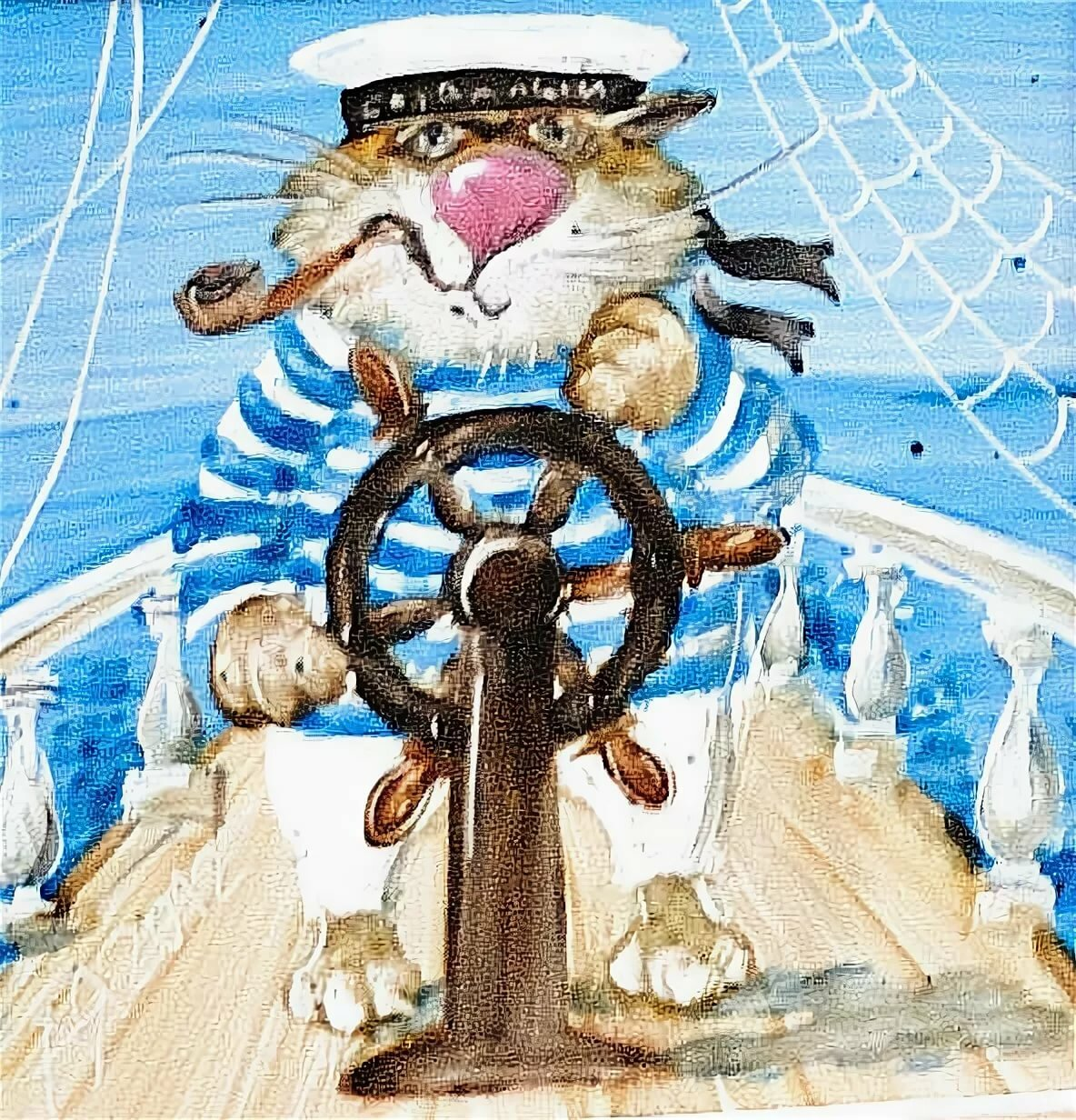 Профессия моряк рисунок