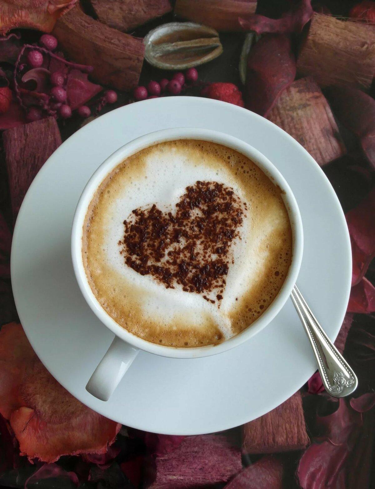 навигации торговом фото чашечки кофе с сердечком нашли идеальные