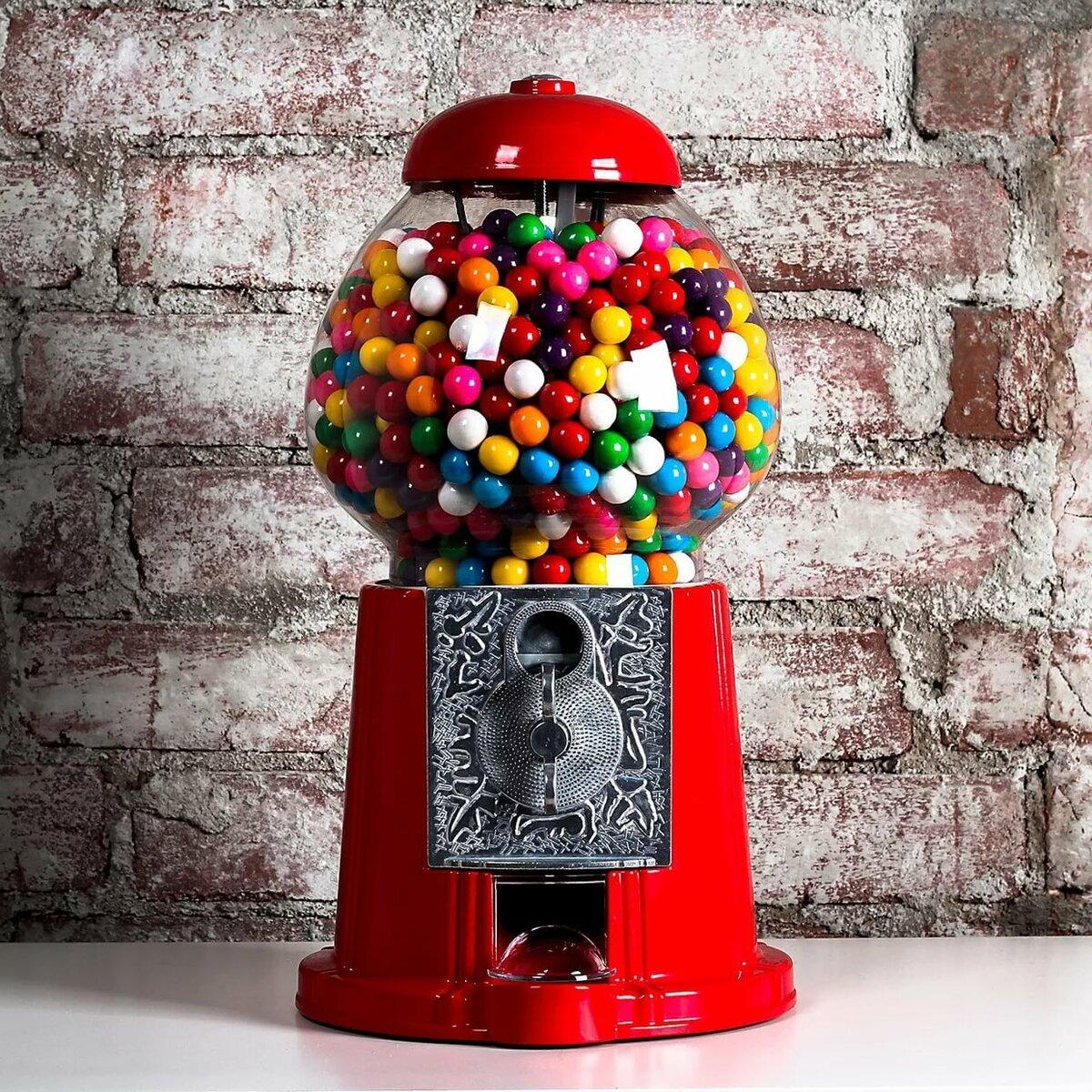 автомат для конфет картинки решите