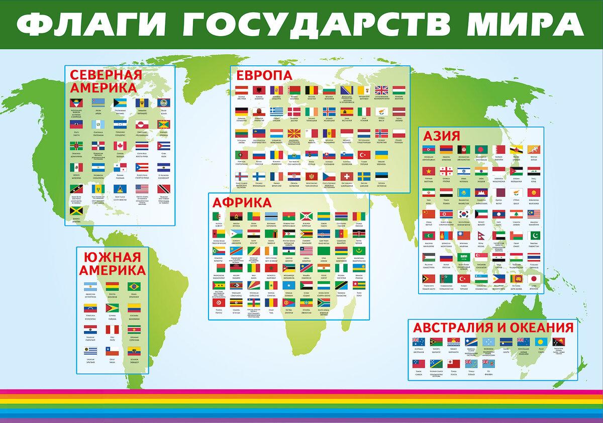 Страны мира и их столицы с картинками