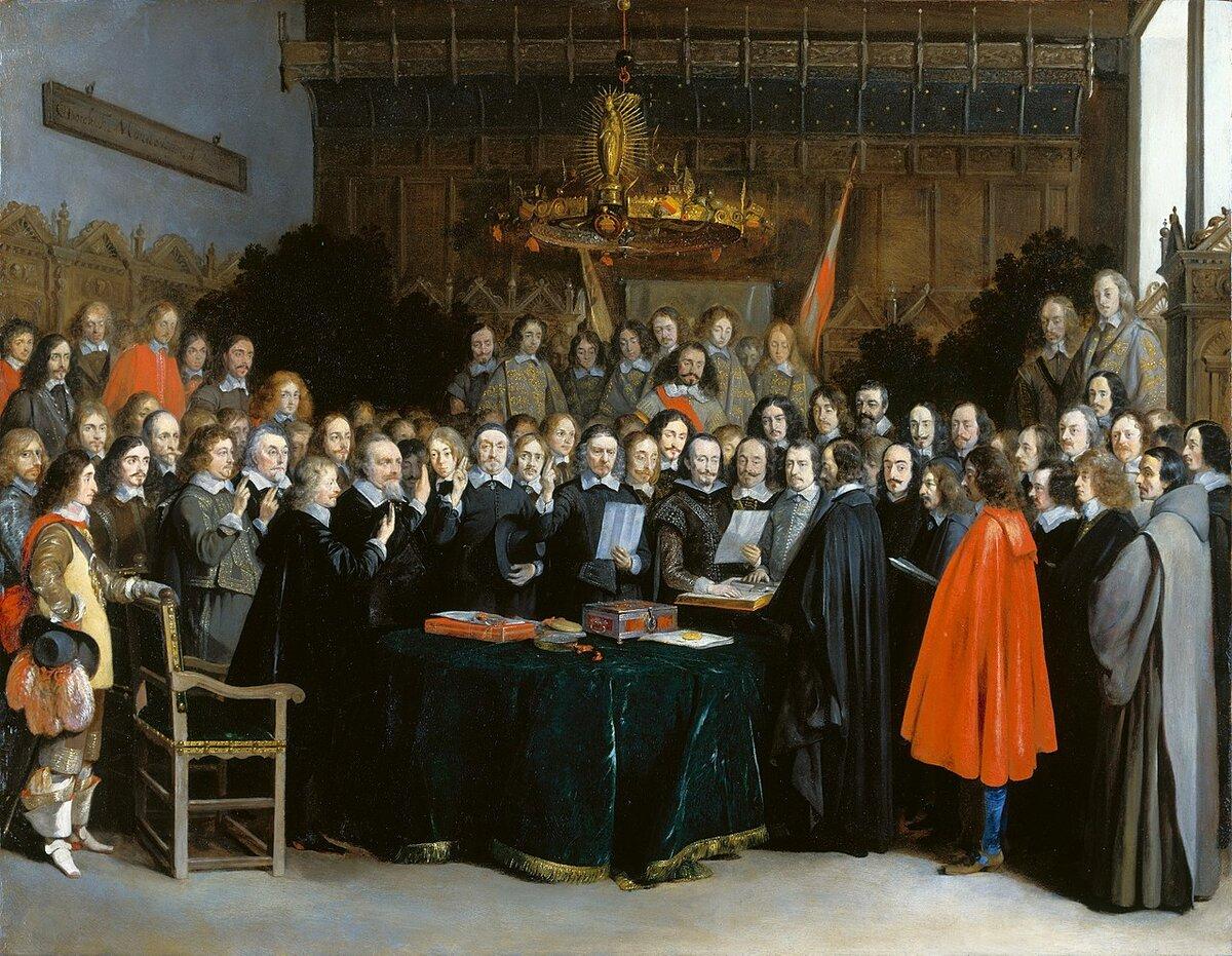 24 октября 1648 года заключен Вестфальский мир