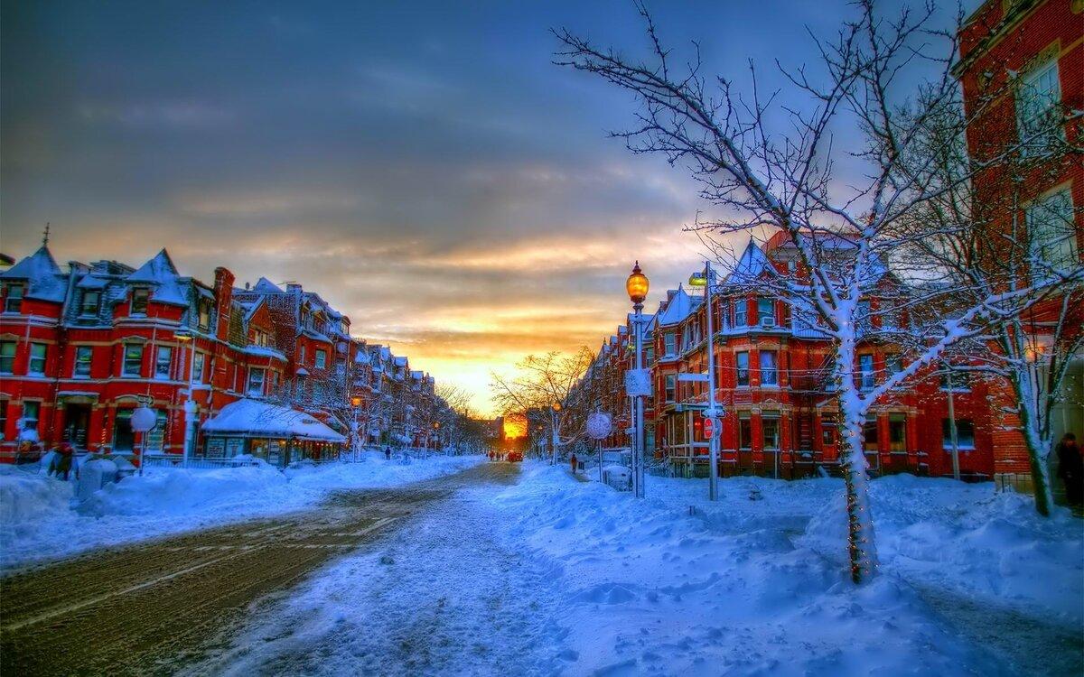 картинки снежность в городе плитка оформлении интерьера