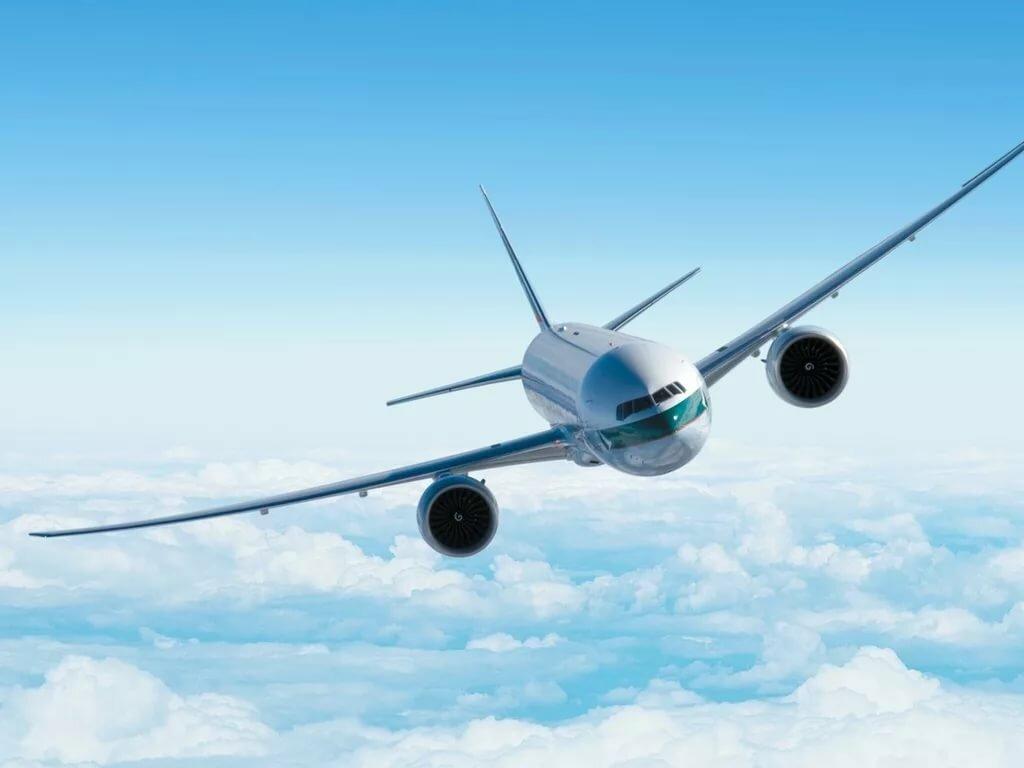 Самолет красивые картинки