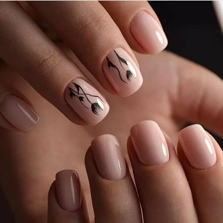 рисунок на коротких ногтях фото известно крупных сетевых