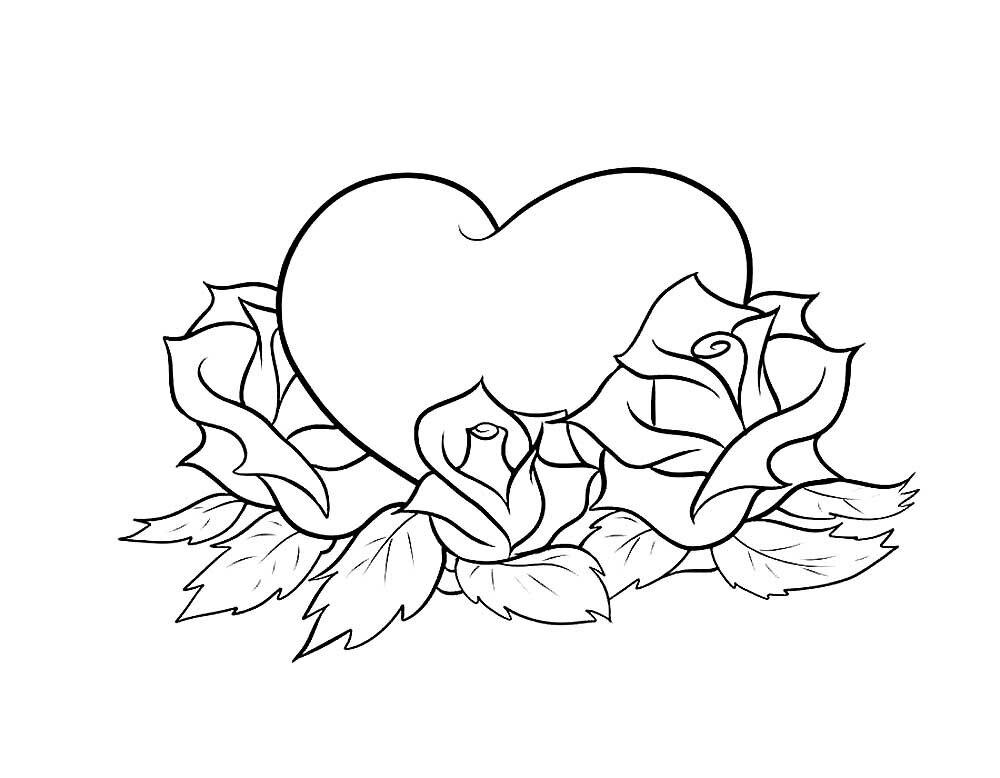 легкие рисунки сердечки и цветы началась война