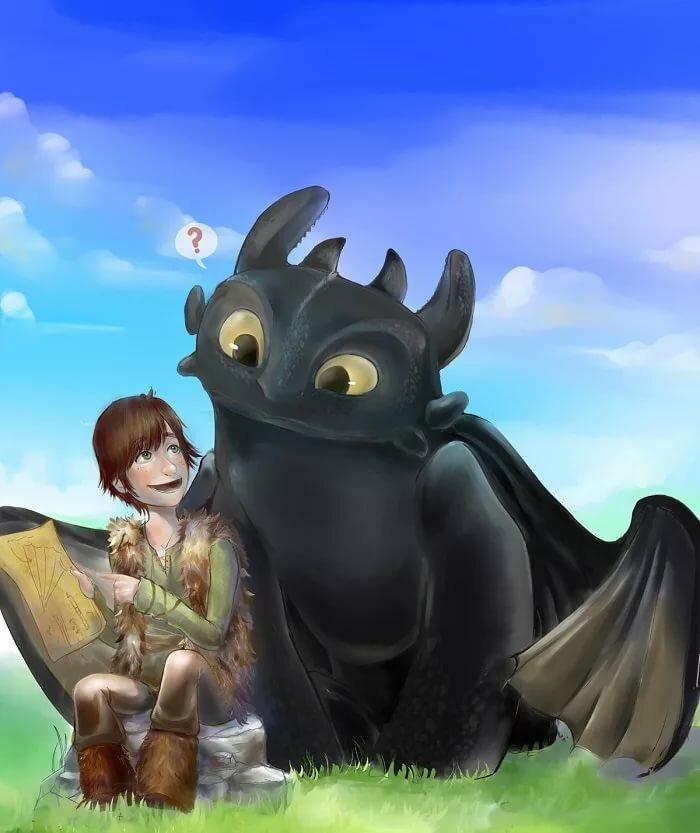 обои на телефон как приручить дракона беззубик и его друзья детей