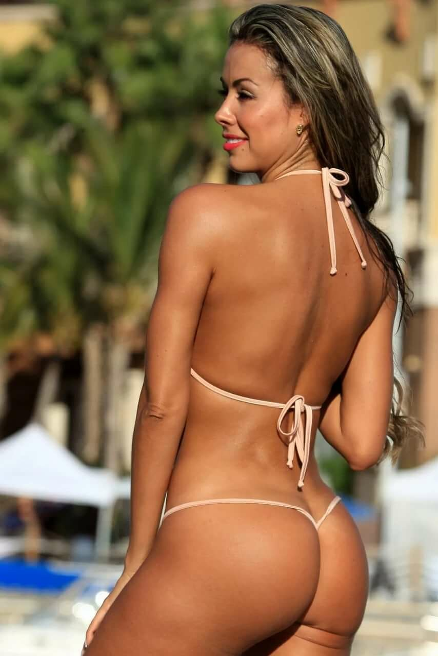 Hot babes in thongs