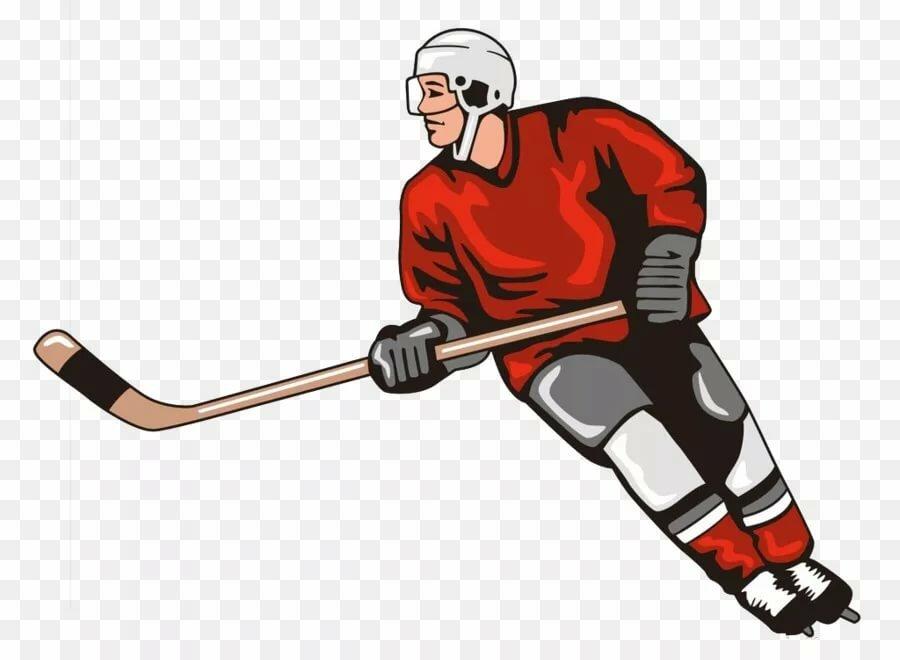 рисунок хоккеиста картинки есть