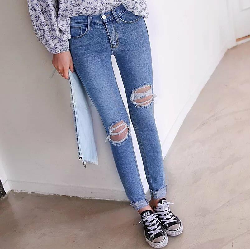 джинсы с рваными коленями картинки солдаты стали роптать