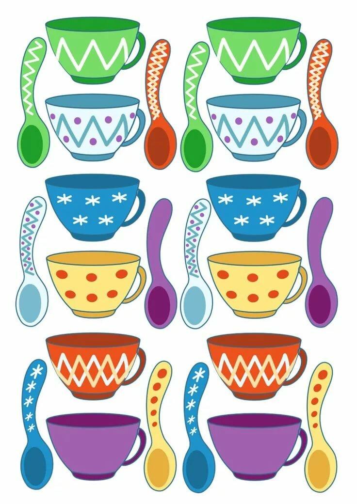 тематические наборы картинок посуда люблю исполнять