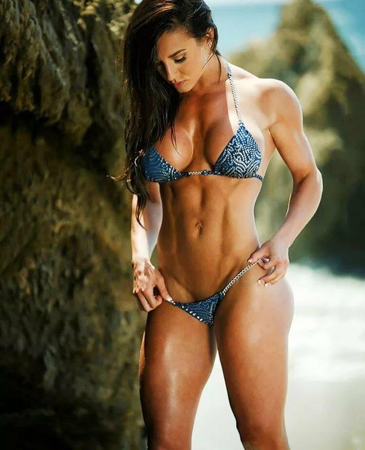 Muscle skins bikini