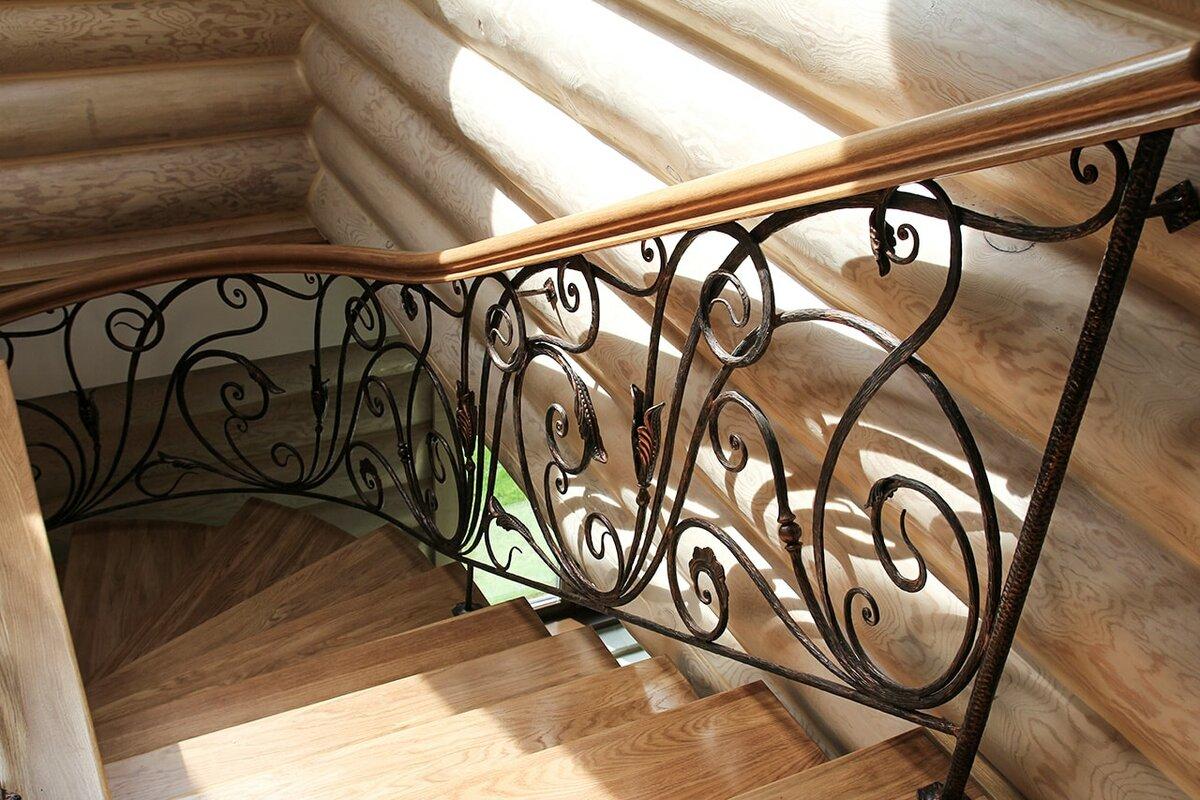 Картинки кованые перила для лестницы