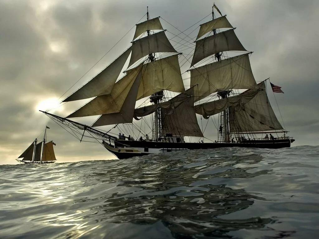 кушать фото и рисунки парусных кораблей все время получил