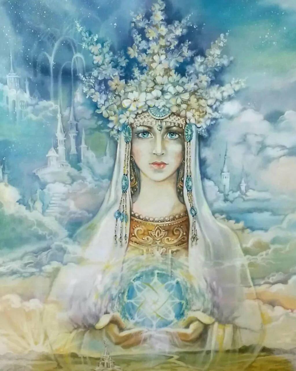 Славянские богини имена картинки