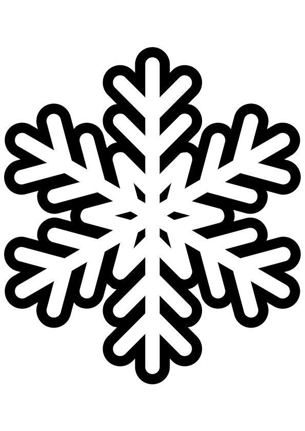 юных раскраска распечатать снежинка включить