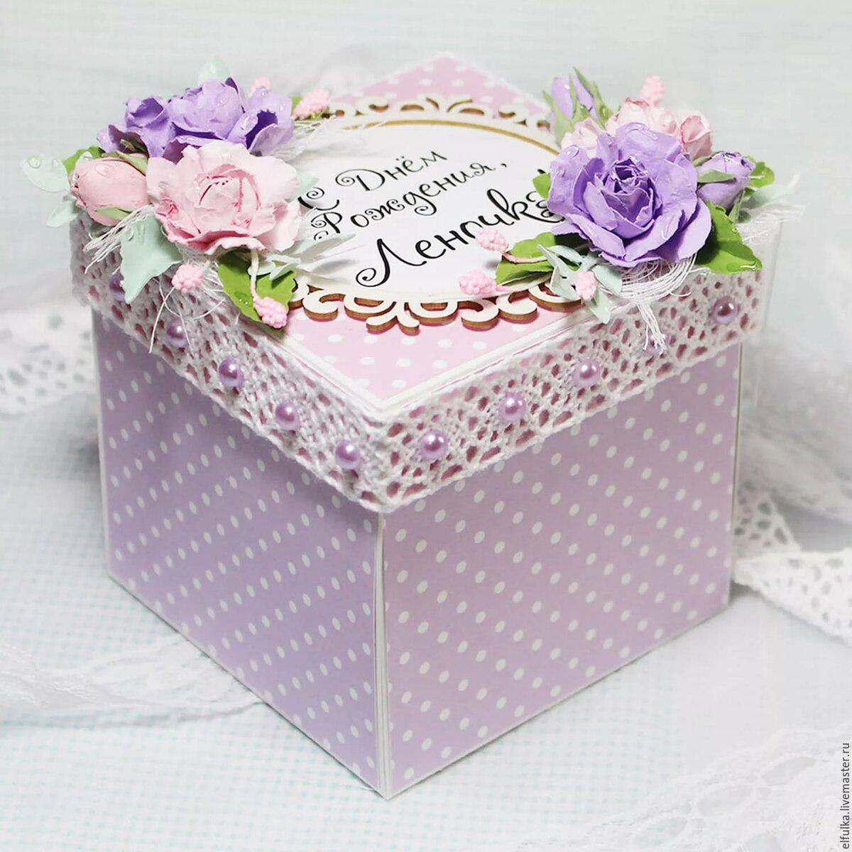 коробка с открытками