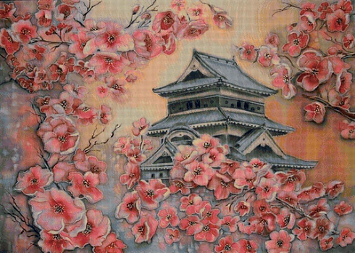 Рисунки картинки в японском стиле