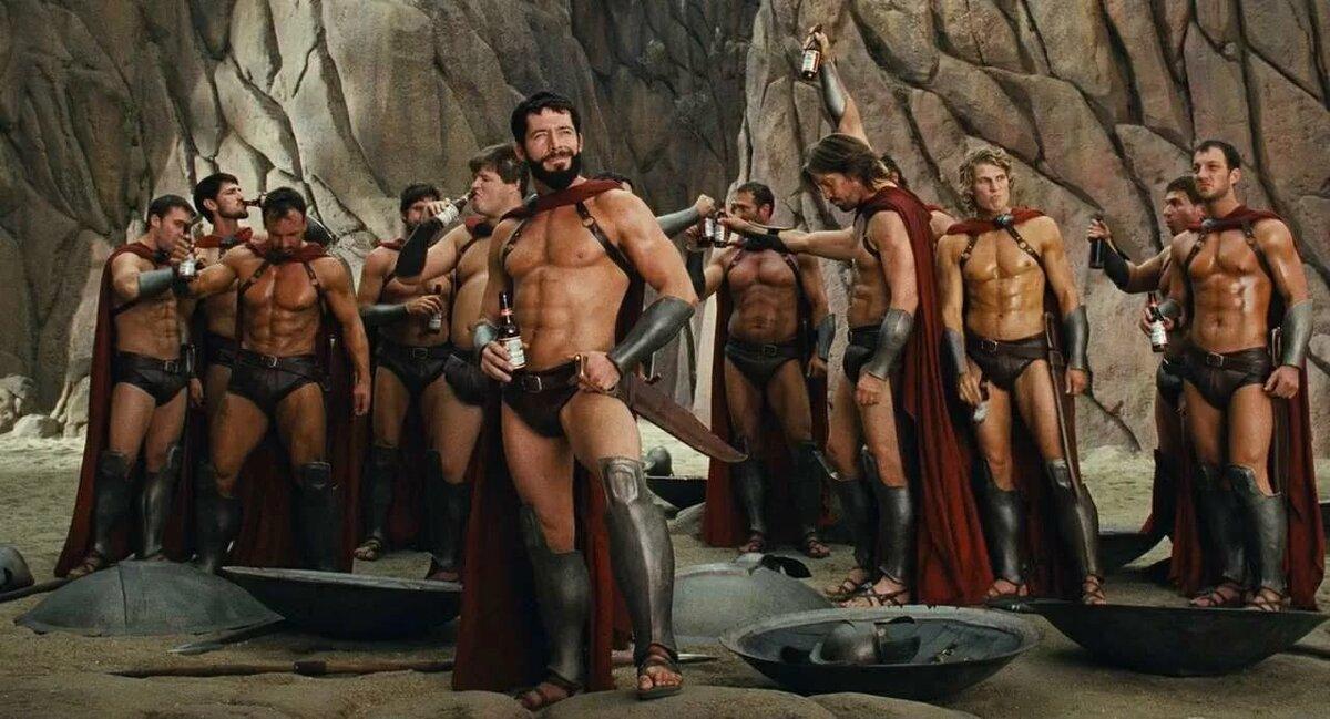 фото со спартанцами мягкой кровли